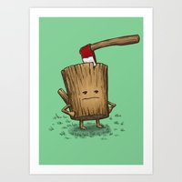 Bad Day Log 3: Splitting Headache Art Print