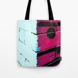Wall, East London, Shock Pink Tote Bag