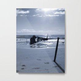 S.S. Dicky Sunshine Coast Metal Print
