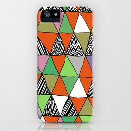 Triangle 2 iPhone Case