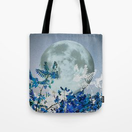 Super Moon v2 - Blue #buyart Tote Bag