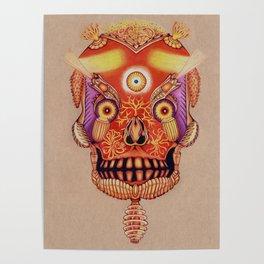 Holy Lumen Skull Poster