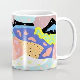 Abstract Postmodern Landscape Coffee Mug