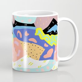 Abstract Postmodern Landscape Coffee Mug