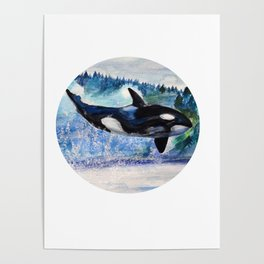 Whale of Freedom Poster