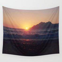 Crash into me - Romantic Sunset @ Beach #1 #art #society6 Wall Tapestry