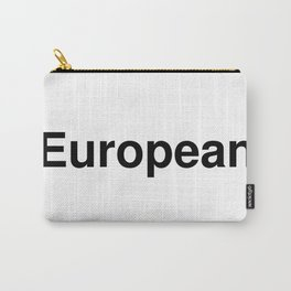 European Carry-All Pouch