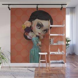 LOLA FLORES BY ERREGIRO Wall Mural