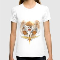 hedwig T-shirts featuring Potter Hedwig Owl by Rubis Firenos