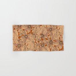 deadly nightshade rust Hand & Bath Towel