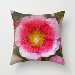 Flower pink Throw Pillow