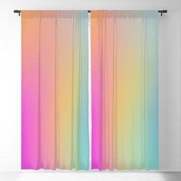 Colourscape in Soft Rainbow Blackout Curtain