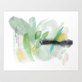 Summer Air Abstract Art Print