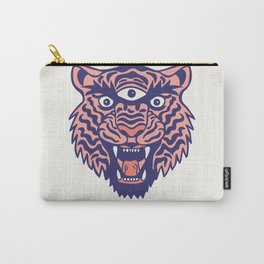 Third Eye Tiger Carry-All Pouch