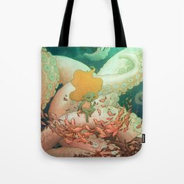 Listen To Me And I'll Tell You A Story Tote Bag