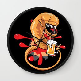 Chestburster Party Guy Wall Clock