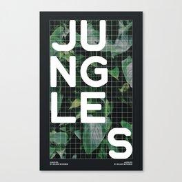 Jungles Canvas Print