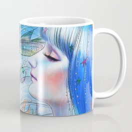Aqua Girl Coffee Mug