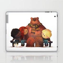 Bus Stop Friends Laptop & iPad Skin