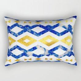 Azurite Falls Rectangular Pillow