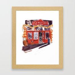 Shop Facade in Italy Framed Art Print
