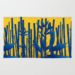 Blue Bamboo Rug
