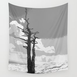 """""""Alone on Sandia"""" Wall Tapestry"""