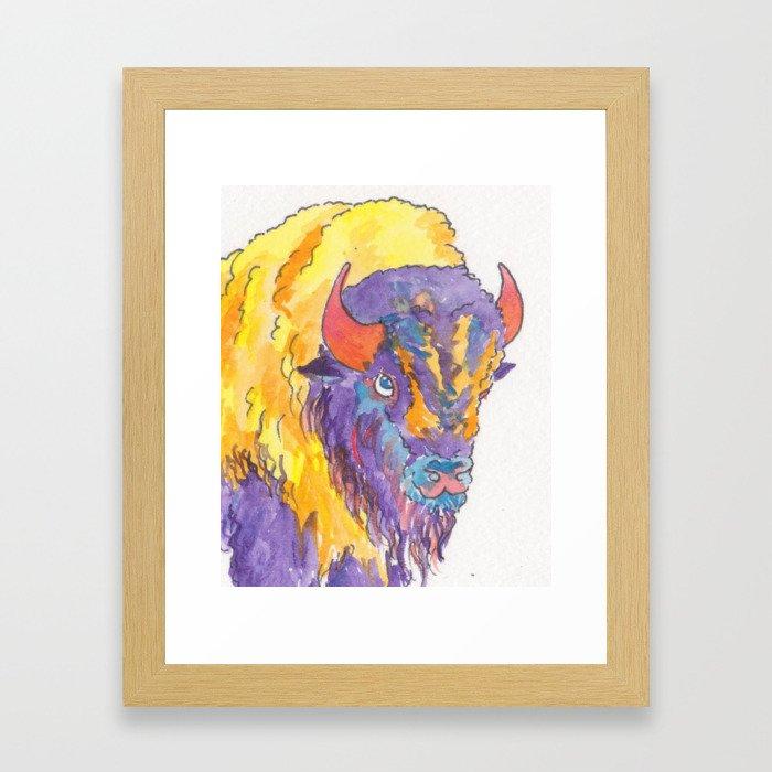 Technibison Framed Art Print