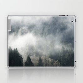 Limitless - Foggy Forest Nature Photography Laptop & iPad Skin