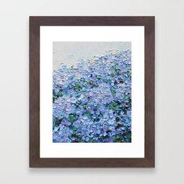 Nantucket Blues Framed Art Print