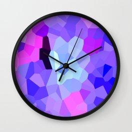 Purple Pink Amethyst - See Leggings! Wall Clock