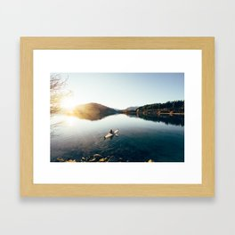 Lake Wanaka Framed Art Print