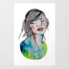 Kindness is an inner desire Art Print
