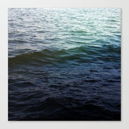 West Lake Waves Canvas Print