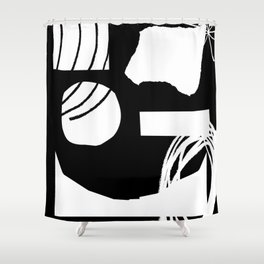 Jazz Party Shower Curtain