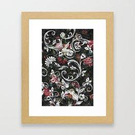 Baroque Bling Framed Art Print