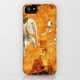 Marcel to elephant's graveyard iPhone Case