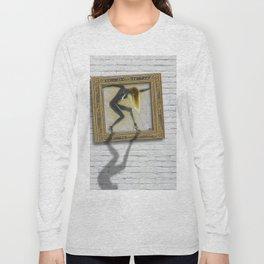 Art For The Sake of Art Woman Framed 1 Women's Rights Empowerment Long Sleeve T-shirt