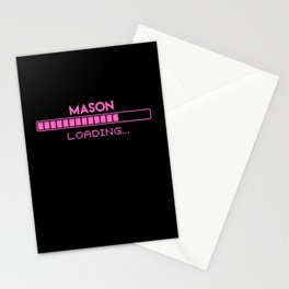 Mason Loading Stationery Cards