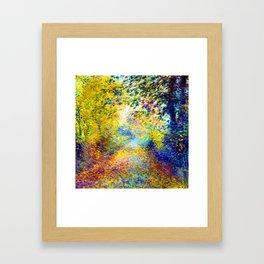 Renoir In the Woods Framed Art Print