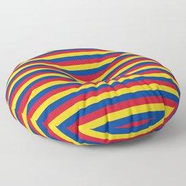 Columbia, Chad, Mongolia Floor Pillow