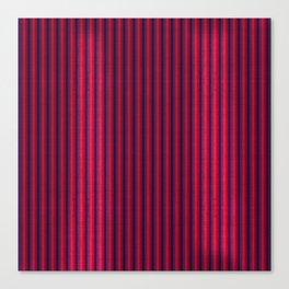 """""""Rose & Violet Burlap Vertical Lines"""" Canvas Print"""