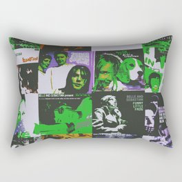 Sleep The Clock Around Belles Rectangular Pillow