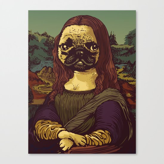 Pugalisa Canvas Print
