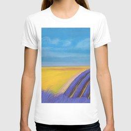 LAVENDER FIELD of SANTA YNEZ T-shirt