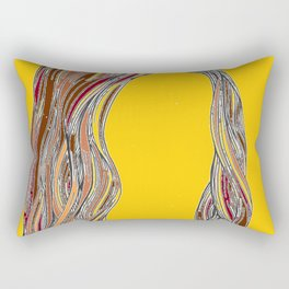 Super Girl Rectangular Pillow