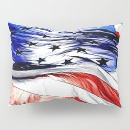 Land Of The Free. Pillow Sham