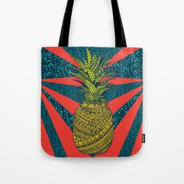 Pineapple wrap  color  Tote Bag