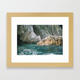 Capri 2 Framed Art Print