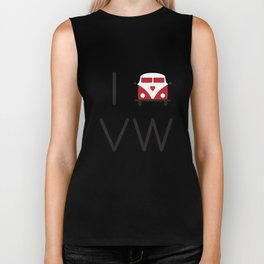 I heart Campervans Biker Tank
